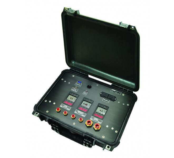 PCU Multi-Range Portable Calibration Unit: To verify the operation of flow equipment