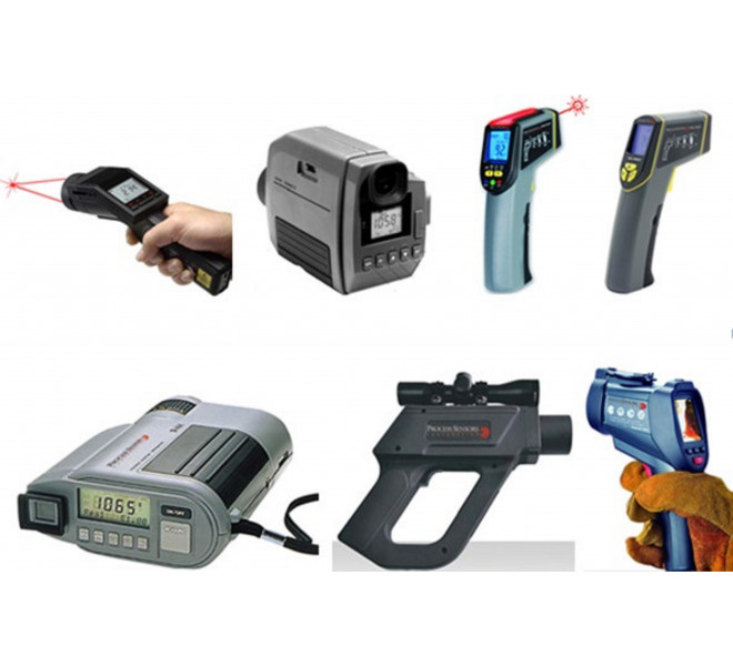 Portable IR Pyrometers