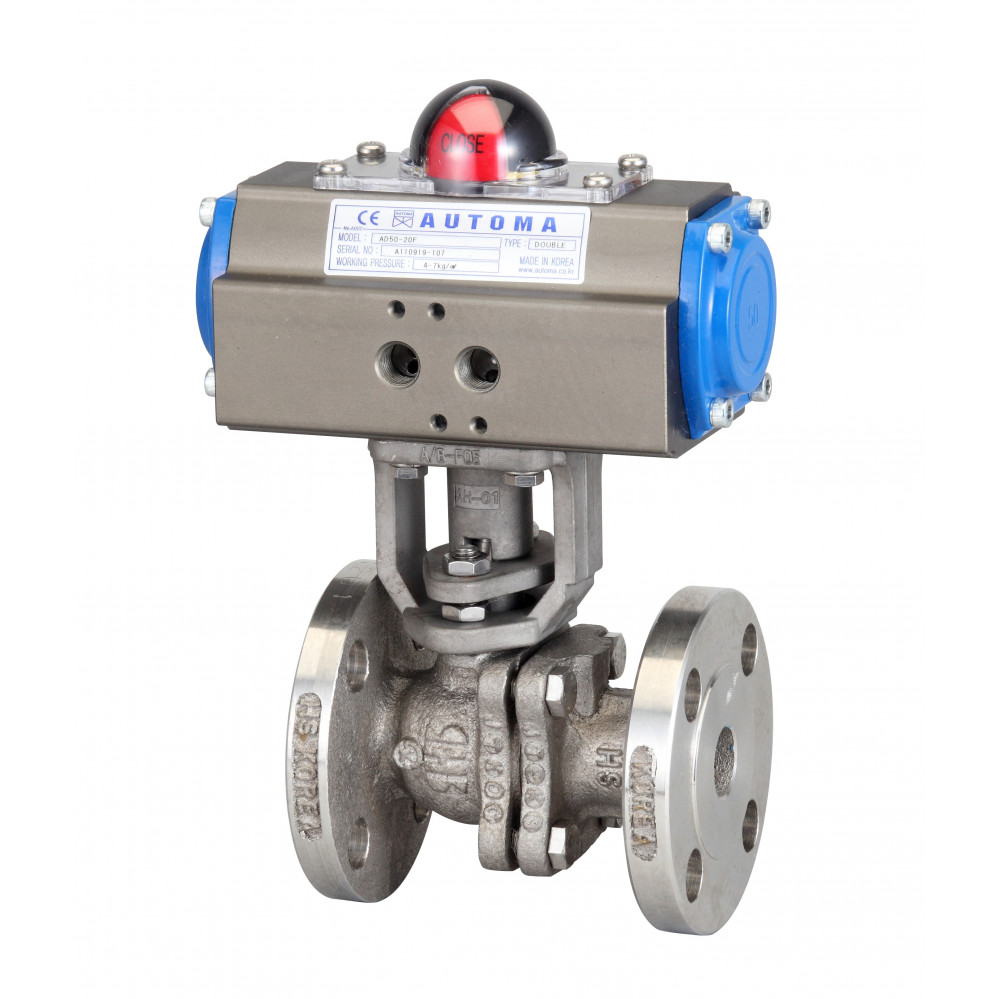 Flange Ball Valve - Double Acting
