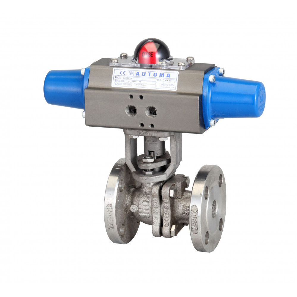 Flanged Ball Valve - Single Type