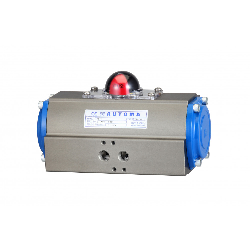 Pneumatic Double Acting Actuator Rack and Pinion Type  (ADR)