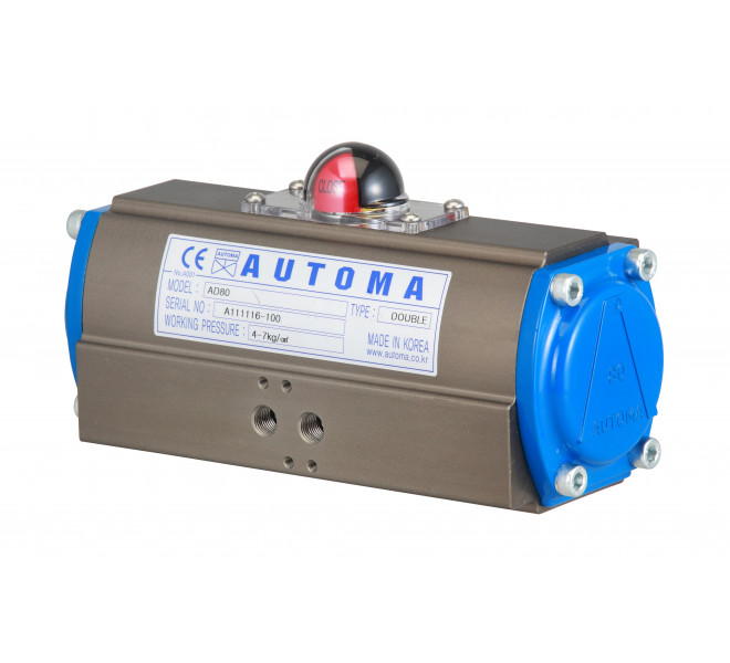 Pneumatic Actuator Rack and Pinion Type (ASR Series)
