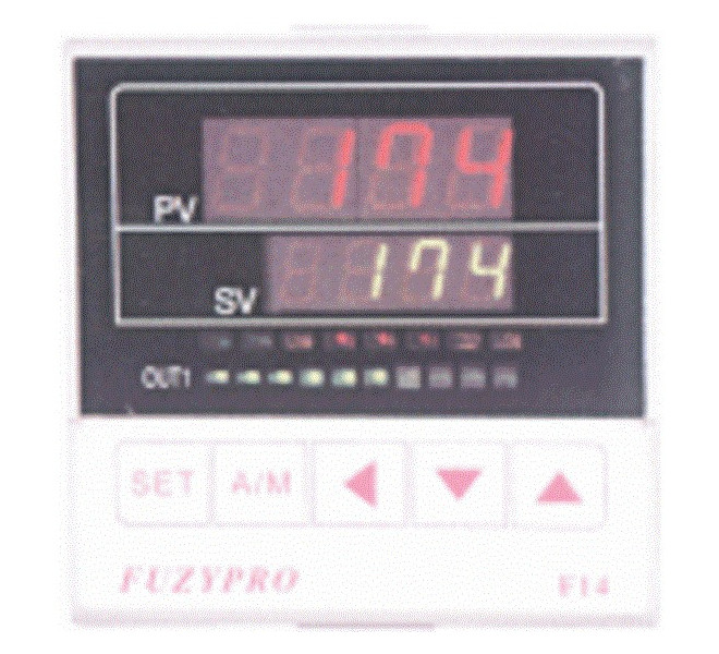 1/4 DIN Heat/Cool temperature controller