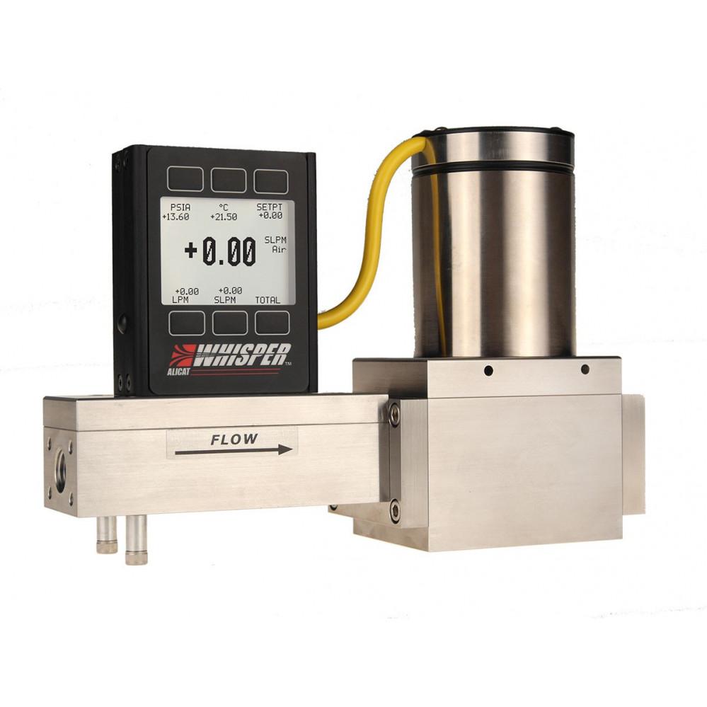 "Mass Flow Controller: MCW/MCRW ""Whisper"" Low Pressure Drop Series"