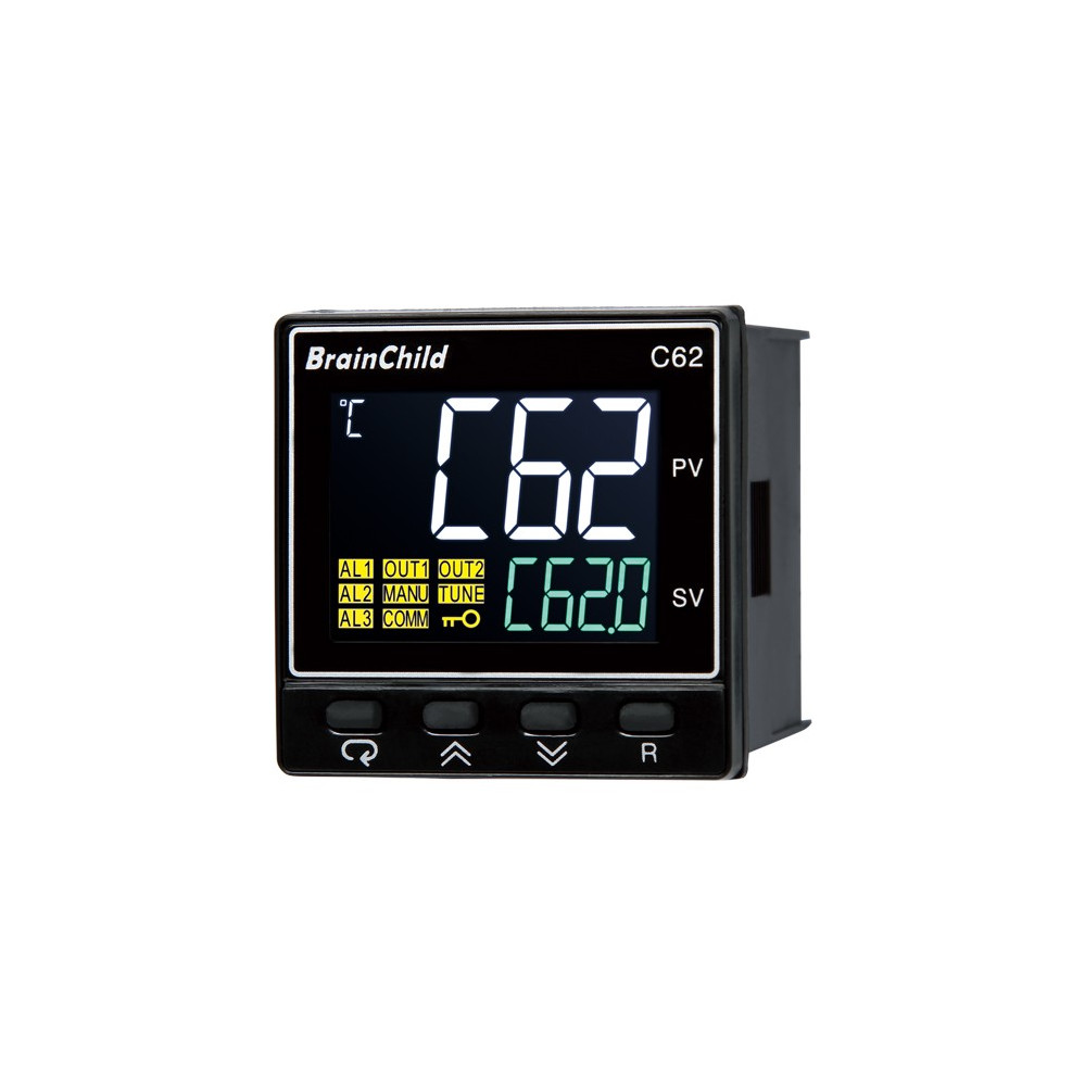 Low-cost process and temperature controllers C62