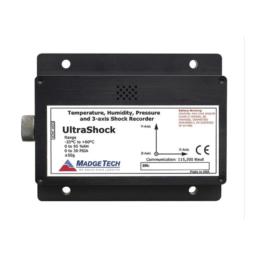 UltraShock Data Logger