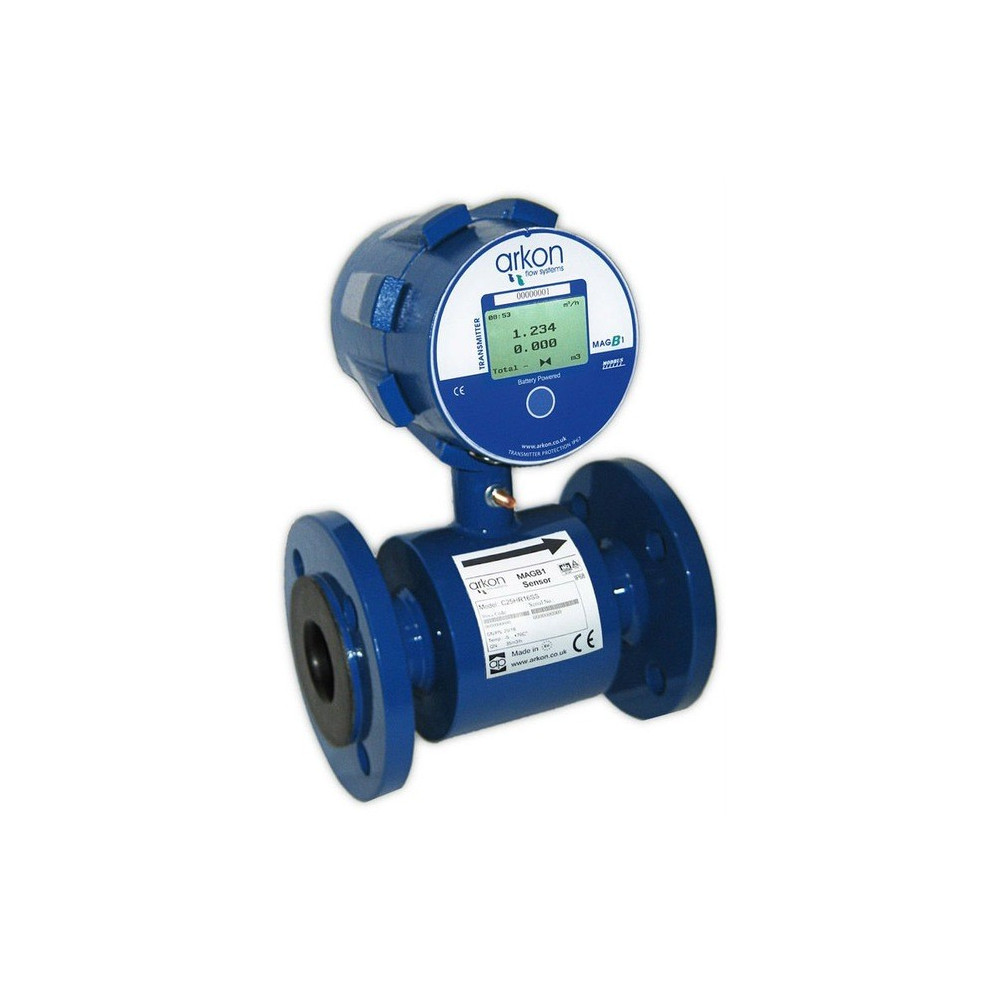 MAGB1 Battery Powered Electromagnetic Flowmeter