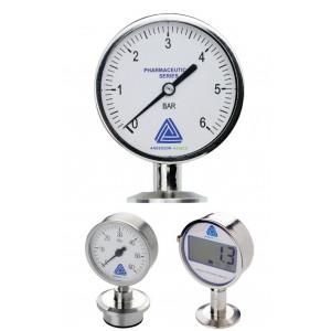 EM Life Sciences Series Pressure Gauge (90mm)
