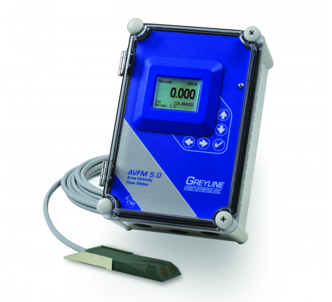 AVFM-5 Area Velocity Flow & Level Monitor