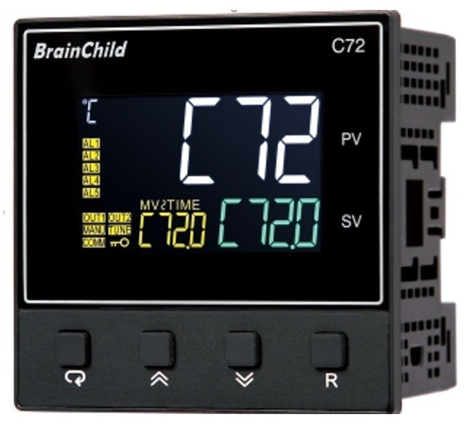 C72 - Process and temperature controllers